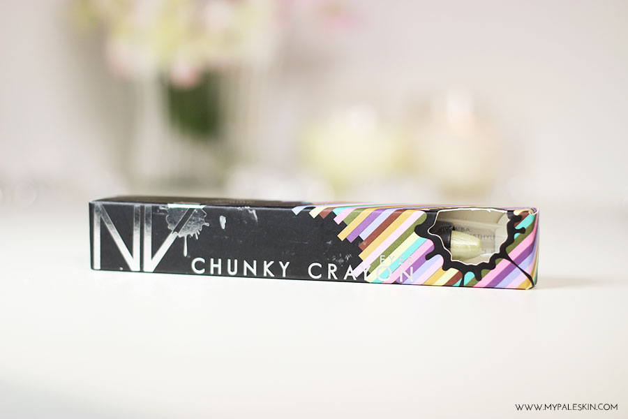 NV Colour, Chunky Crayon, Eyeshadow, Review, Swatch, My Pale Skin, Em Ford