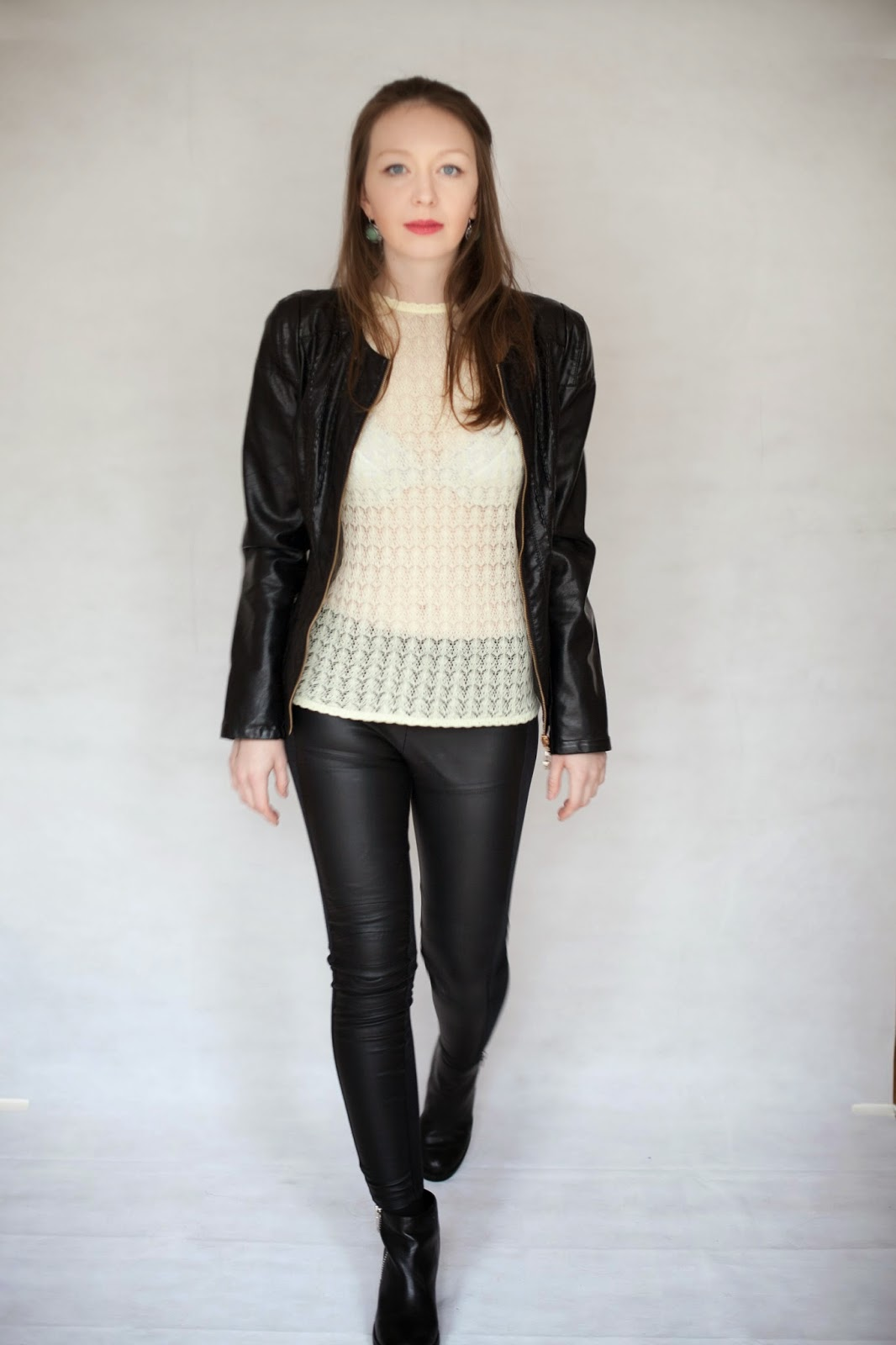 Just in Style Hot in leather two outfit of the day