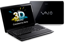 Sony Vaio laptops F series in range of 40,000 to 50,000
