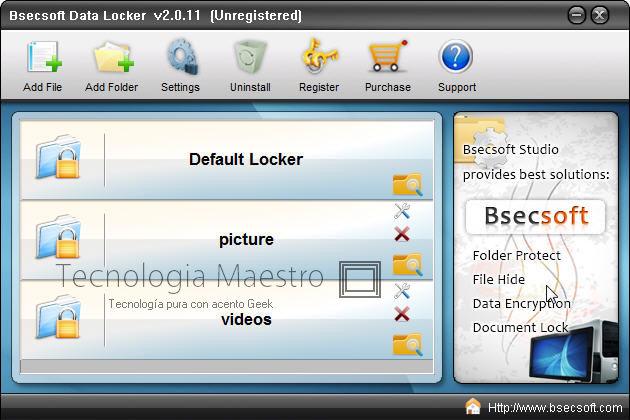 Encriptar archivos de la computadora con DataLocker