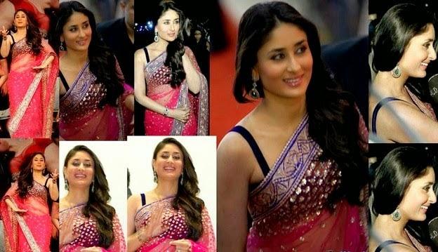 Bollywood Celebrity Saree Fashion 2014