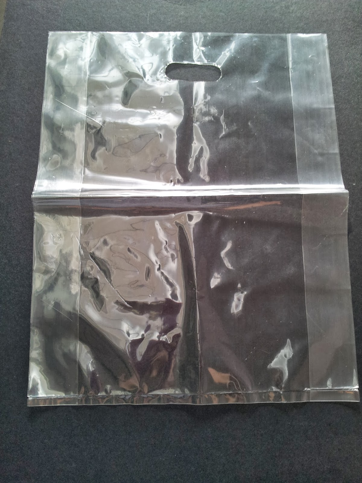 Clear Plastic Bags With Handles Clear Plastic Bag With Die Cut