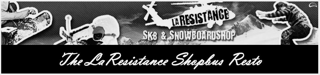 la resistance shopbus