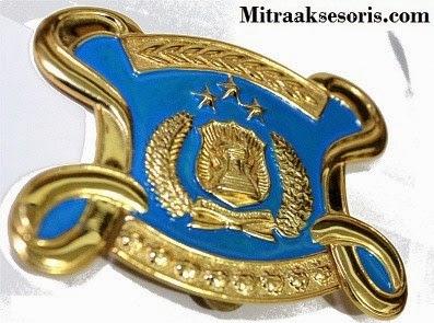 Emblem TNI bahan kuningan harga PABRIK Emblem-tni-al-kuningan