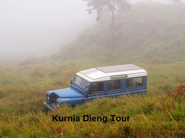 rute jalan off road di dieng wonosobo