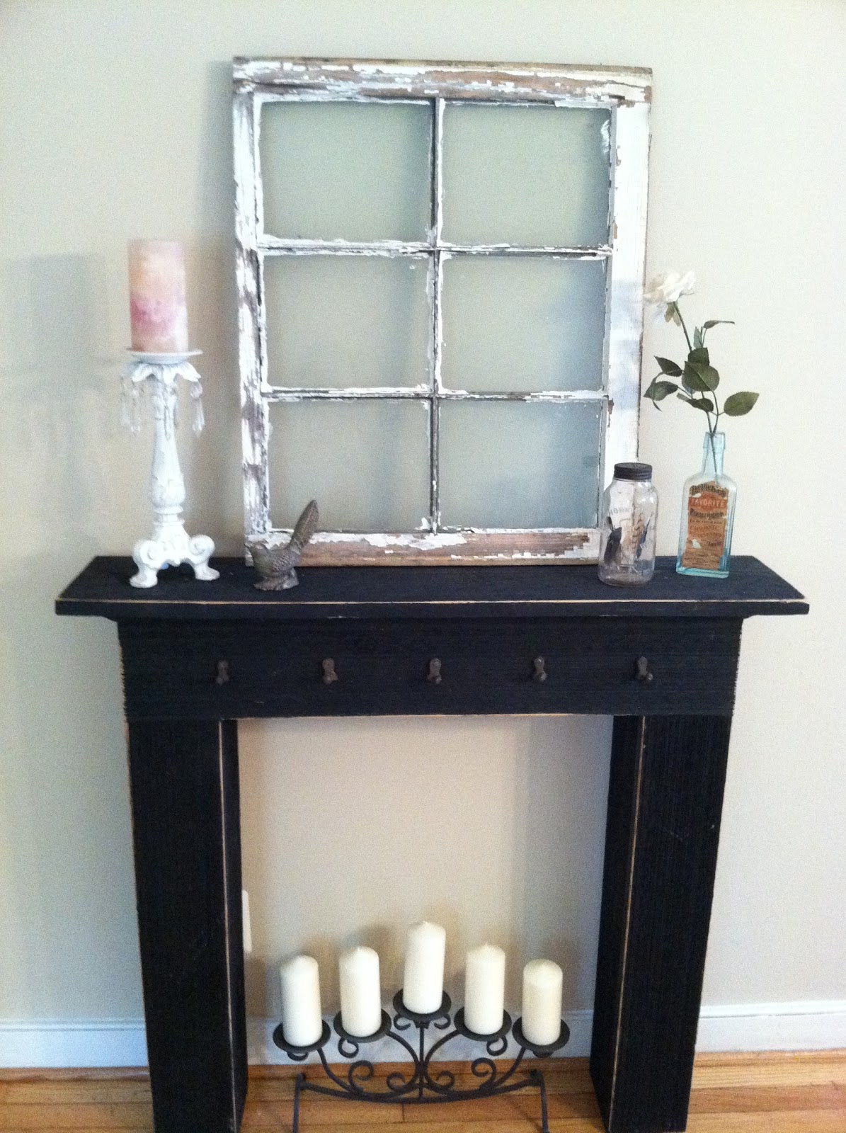 Vintage afterthoughts a few of my favorite things Fireplace ideas no fire