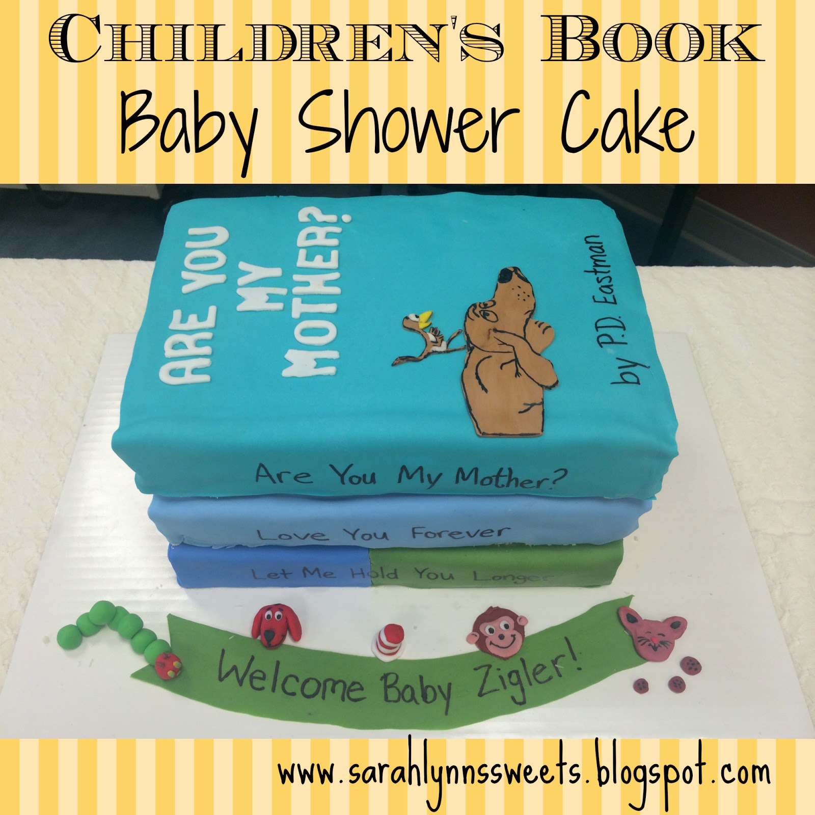 Children s Book Baby Shower Cake
