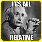 Involves the concept of relativity