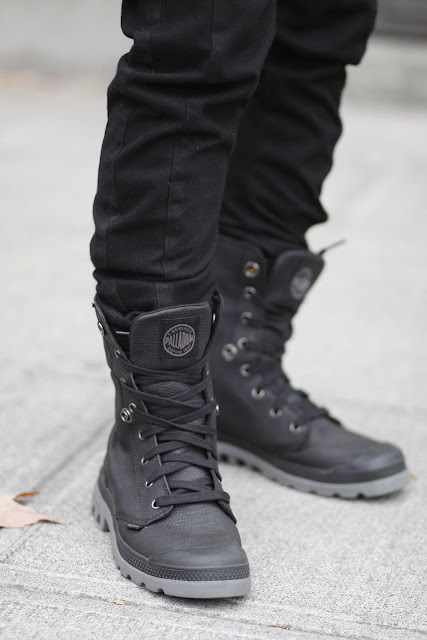 Black Palladium High Tops