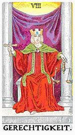 Значение на Таро карта VIII Справедливост - хороскоп за 2015 година