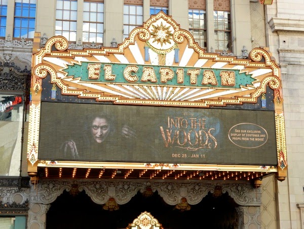 Into the Woods El Capitan Theatre Hollywood