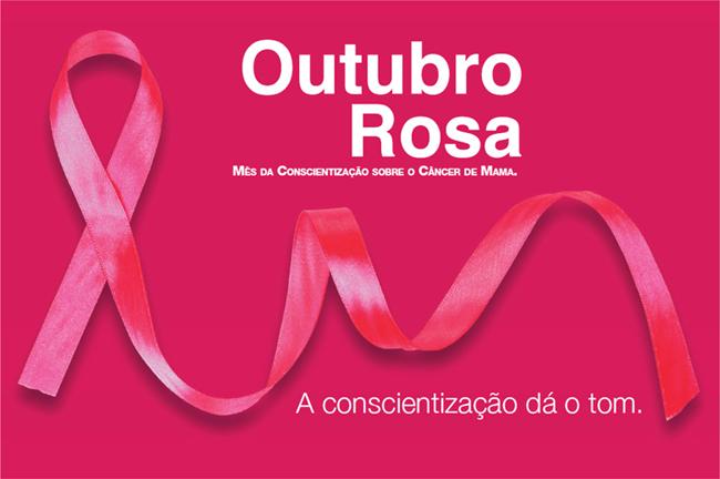 Outubro Rosa - Mês de conscientização e prevenção do câncer de mama