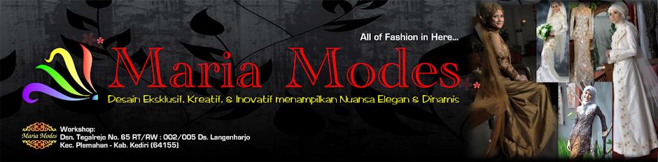 Maria Modes - Desainer dan Penjahit Busana (Kediri)
