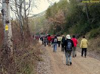 """Seguint el camí planer del cosat esquerra del Cardener. Autor: Francesc """"Caminaire"""""""
