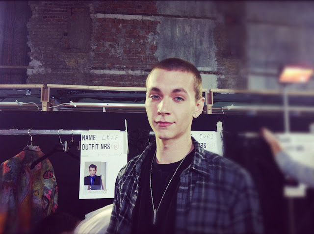 tadziomagazine Yuri Pleskun DRIES VAN NOTEN FALL WINTER 2012 2013 BACKSTAGE PARIS MENS FASHION WEEK