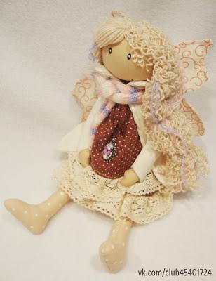 Интерьерная кукла. Фея беременная.