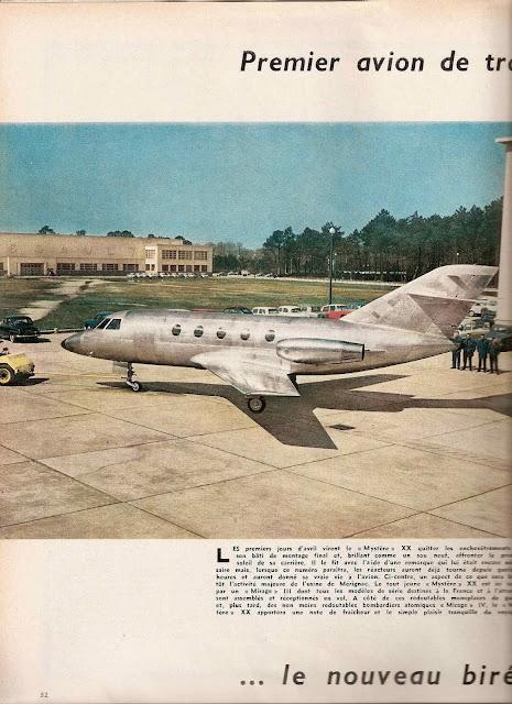 Dassault Mystère 20 01