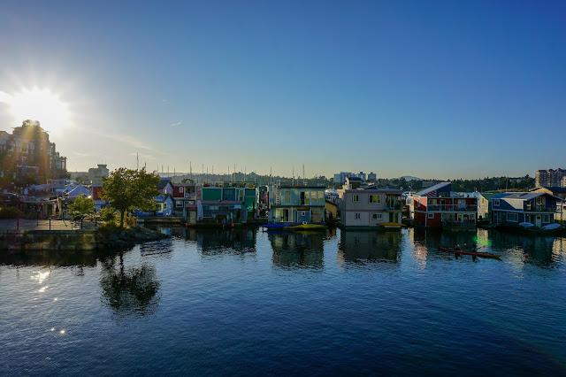 Victoria-British Columbia-Canada-Fishermen's Wharf