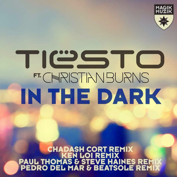Tiësto - In the Dark (feat. Christian Burns) [Remixes] - EP Cover