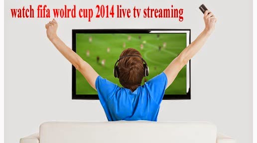 How to watch free fifa world cup 2014 live tv streaming online on computer or pc or laptop