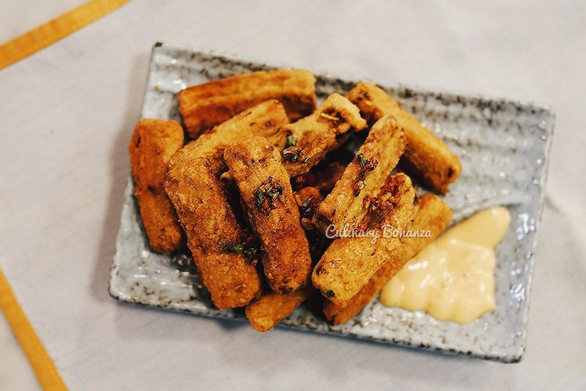Crispy Eggplant Chips