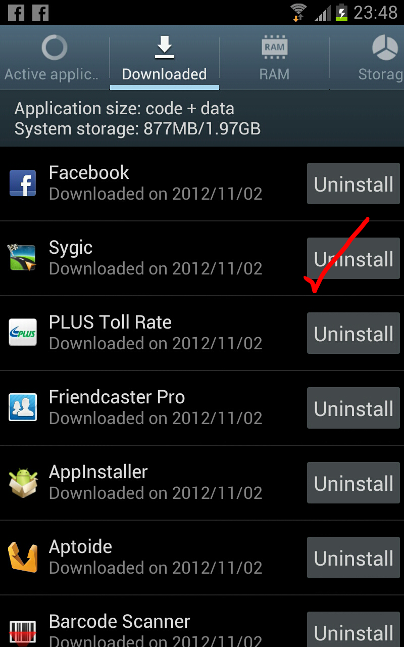 uninstall your sygic 8 download sygic 12 1 3