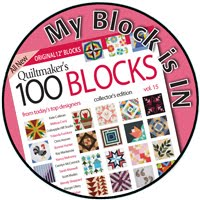 QuiltMaker's 100 Blocks Vol 15