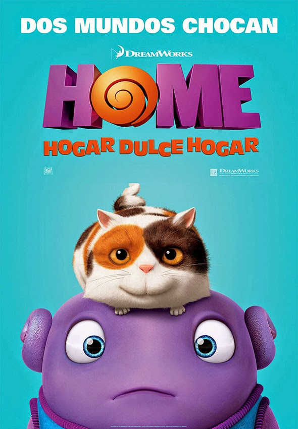 Póster en español de Home: Hogar dulce hogar