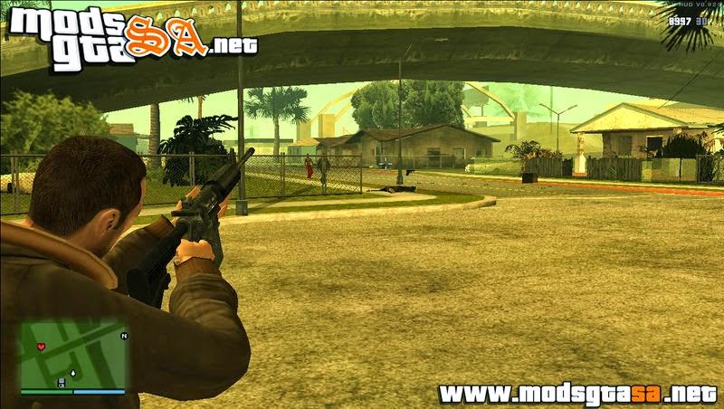 SA - Mod Recarregar Armas Estilo GTA IV