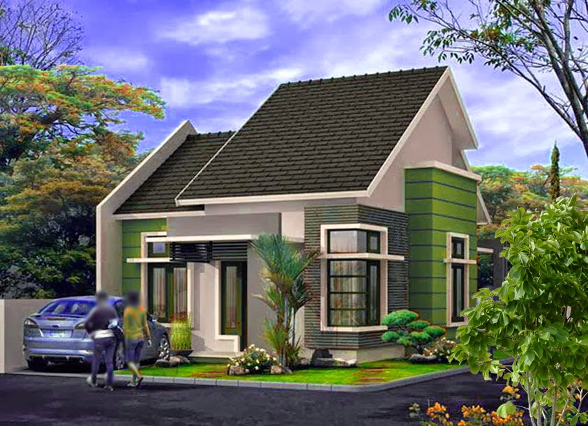 Model Rumah Minimalis Type 100