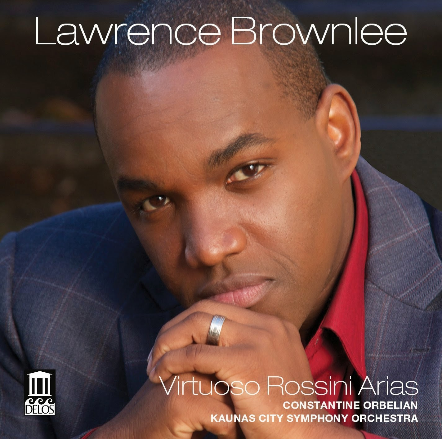 Virtuoso Rossini Arias - Lawrence Brownlee - Delos