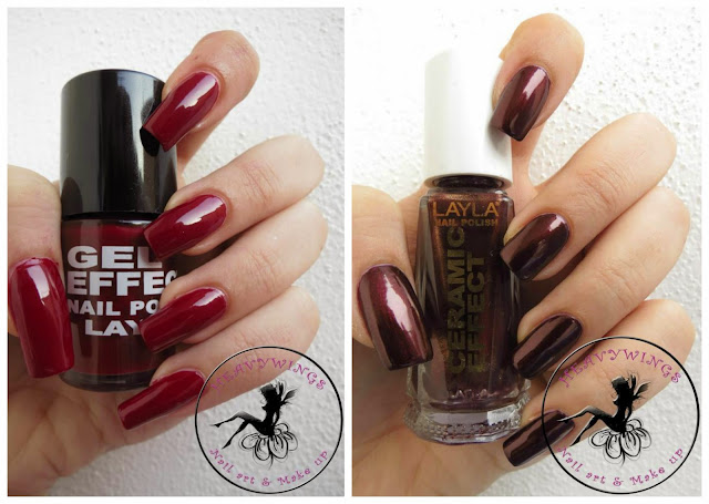 Gel Effect n°07 e Ceramic Effect n°87 Layla