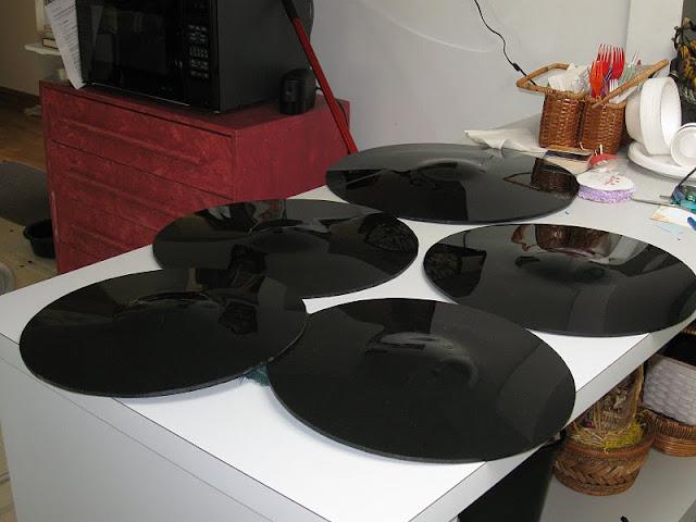 Пластиковые тарелки для тренировочной ударной установки