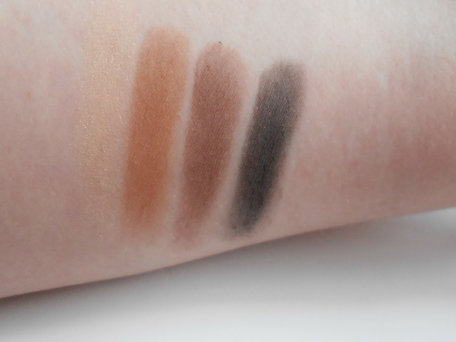 w7 brow kit swatches review