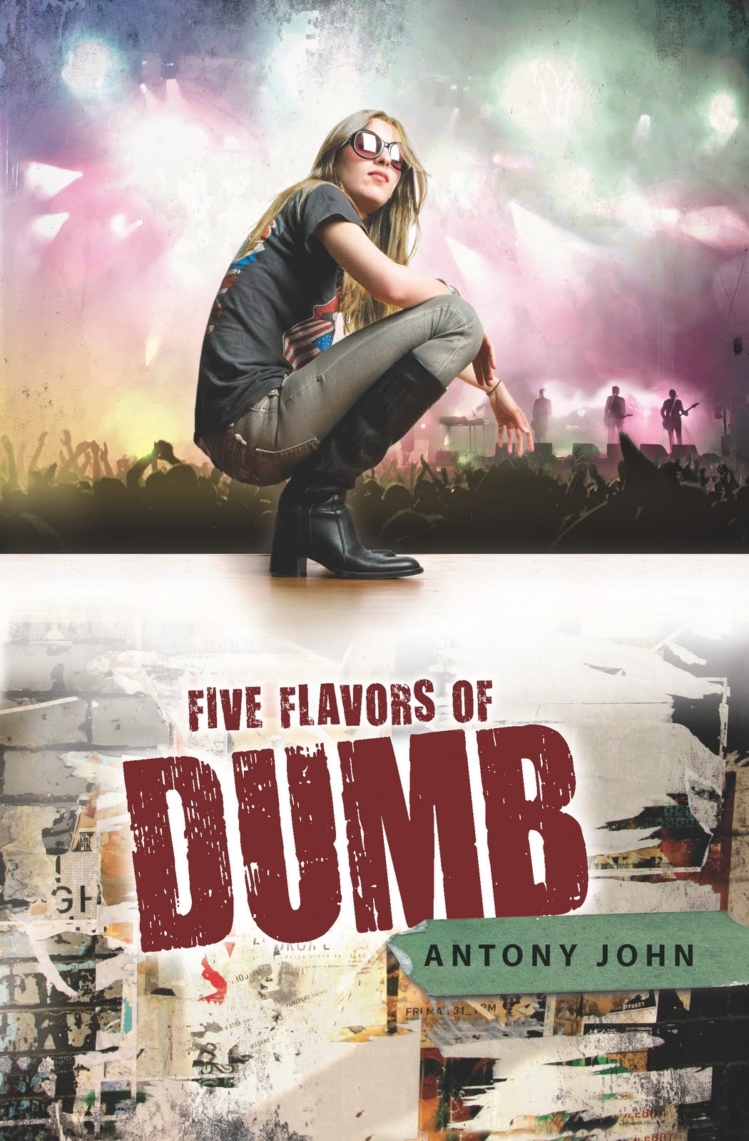 five flavors of dumb by antony