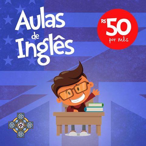 Venha Estudar Inglês na Igreja Anglicana de Santos!