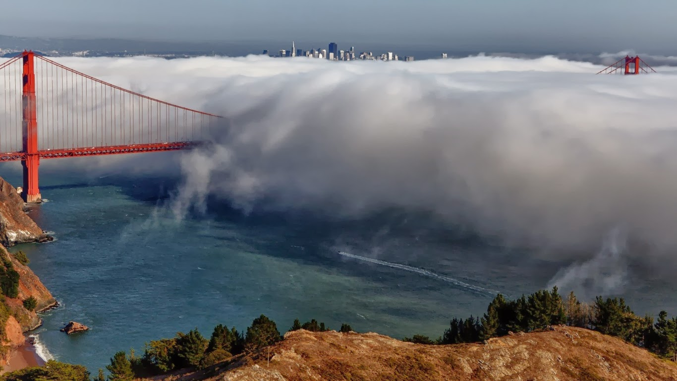 Nature, San Francisco fog