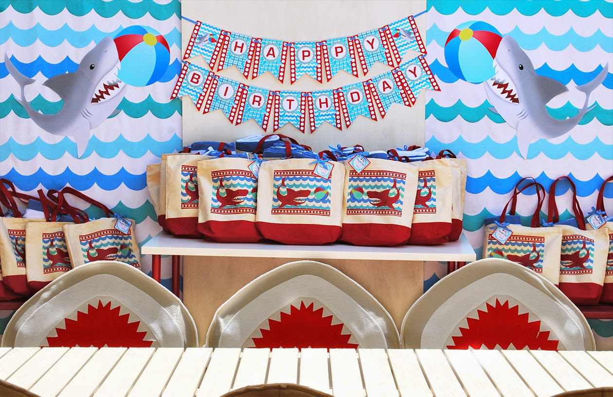 Shark Pool Party Ideas beach pool party ideas Wet N Wild Shark Pool Party