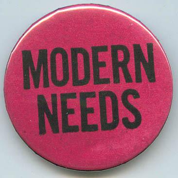 Modern Needs
