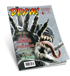 DRAW! Magazine NO.31 ON SALE NOW!