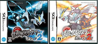 Pokemon Black 2, White 2 Covers Posted