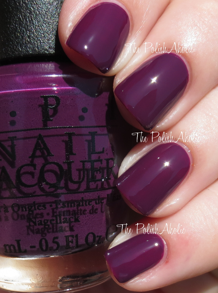 OPI Fall 2014 Nordic Collection Swatches & Review | The PolishAholic ...