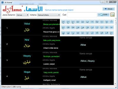 Al-Asma - Kumpulan Nama-nama anak islami