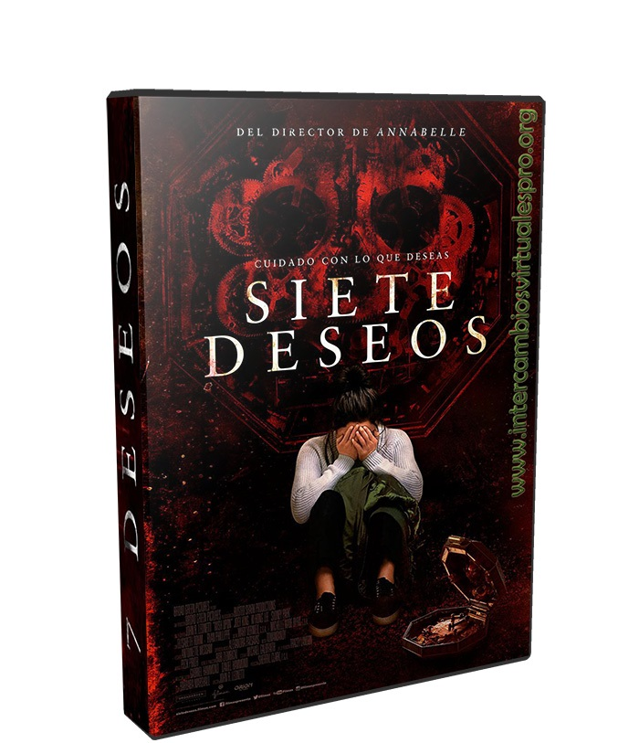7 deseos poster box cover