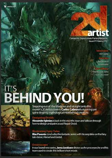 2Dartist Magazine March 2012