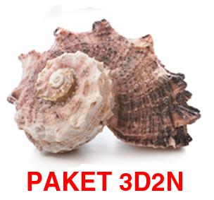PAKET 3D2N DENGAN SPEEDBOAT