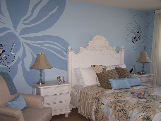 Best design home wall painting designs for Mural art designs for bedroom