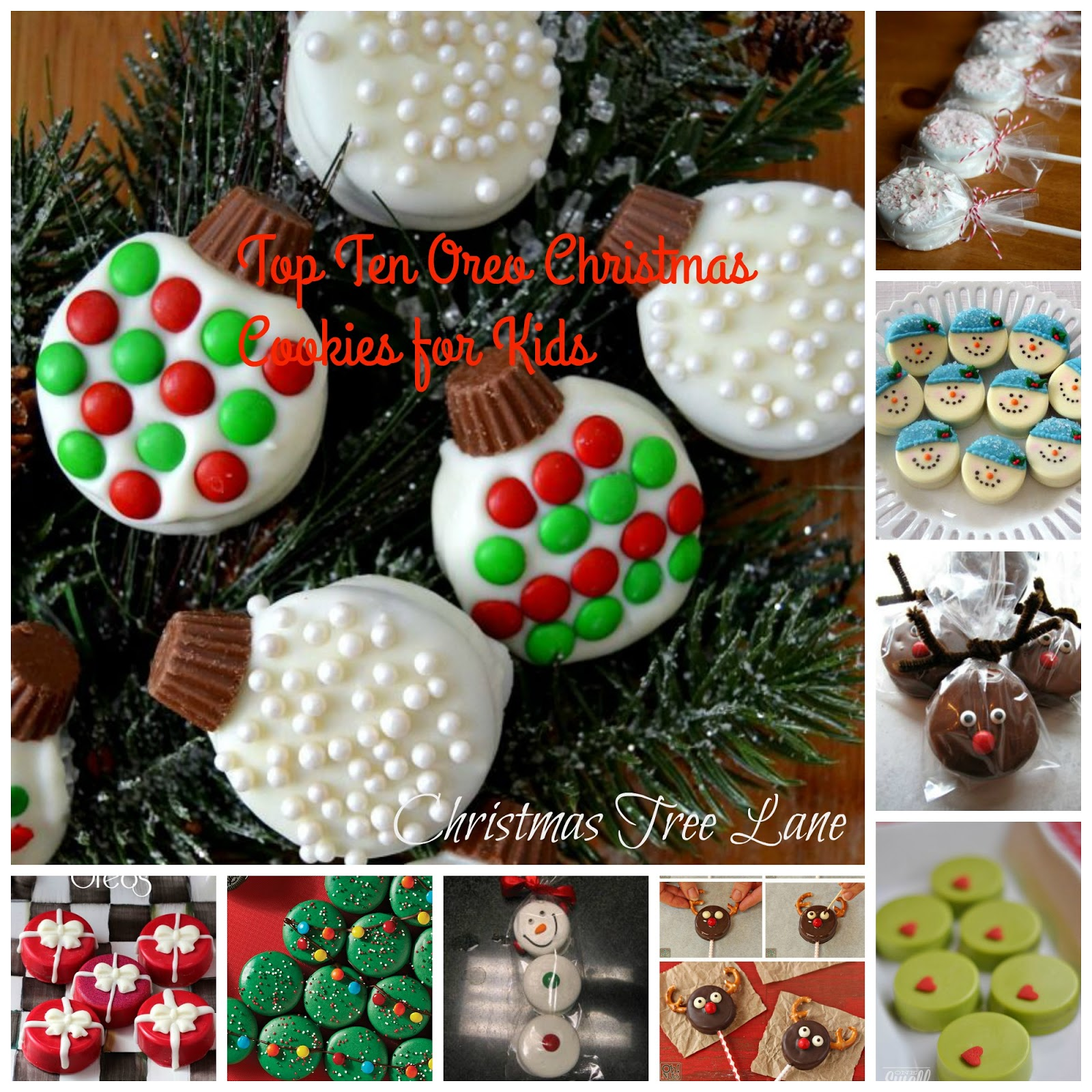 Christmas Tree Lane Top Ten Christmas Oreo Cookies For Kids