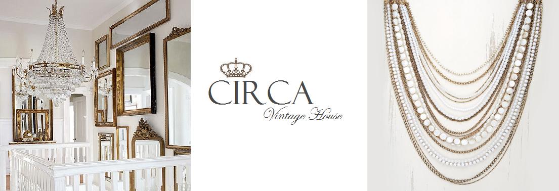 CIRCA vintage house