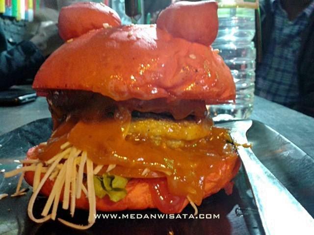 Burger Unik Bertanduk Ada di Jackpott Burger